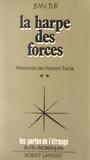 Jean Tur et Francis Mazière - Mémoires de l'Arkonn Tecla (2) - La harpe des forces.