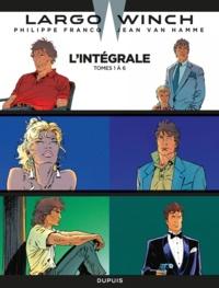 Jean Van Hamme et Philippe Francq - Largo Winch - intégrale - Tomes 1 à 6.