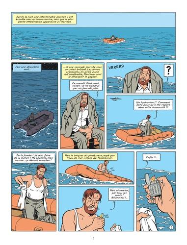Les aventures de Blake et Mortimer Tome 20 La malédiction des 30 deniers. Tome 2, La porte d'Orphée