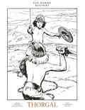 Jean Van Hamme et Grzegorz Rosinski - Thorgal Oeuvres complètes To : Aaricia ; Le maître des montagnes ; Louve ; La gardienne des clés - Avec 1 ex-libris.