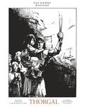 Jean Van Hamme et Grzegorz Rosinski - Thorgal Oeuvres complètes To : Arachnéa ; Le mal bleu ; Le royaume sous le sable ; Le barbare ; Kriss de Valnor ; Le sacrifice.