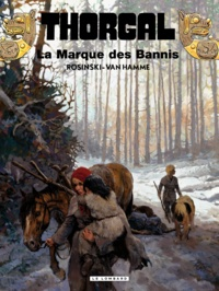 Jean Van Hamme et Grzegorz Rosinski - Thorgal Tome 20 : La Marque des bannis.