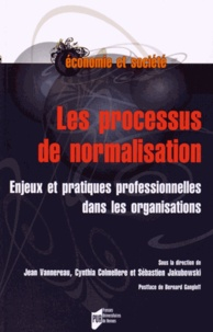 Jean Vannereau et Cynthia Colmellere - Le processus de normalisation - Enjeux et pratiques professionnelles dans les organisations.