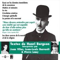 Jean Vilar et Jean-Louis Barrault - Henri Bergson. Textes - Les deux sources de la morale et la religion.