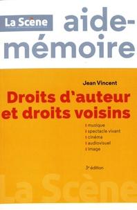 Jean Vincent - Droits d'auteur et droits voisins.
