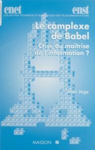 Jean Voge - .