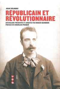 Jean Volders - Républicain et révolutionnaire.