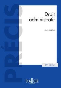Jean Waline - Droit administratif - 28e ed..