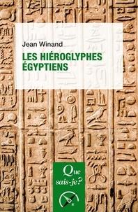Jean Winand - Les hiéroglyphes égyptiens.