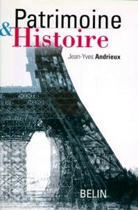 Jean-Yves Andrieux - Patrimoine et histoire.