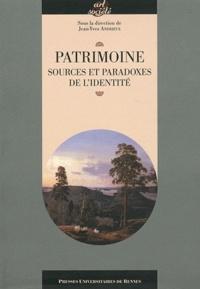 Jean-Yves Andrieux - Patrimoine, sources et paradoxes de l'identité.