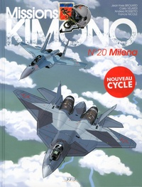 Jean-Yves Brouard et Carlo Velardi - Missions Kimono Tome 20 : Milena.