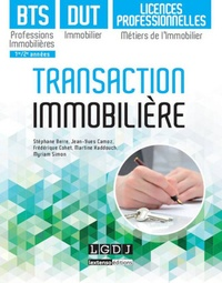 Jean-Yves Camoz et Stéphane Berre - Transaction immobilière - BTS professions immobilières, DUT Immobiliers et Licences professionnelles Métiers de l'Immobilier.