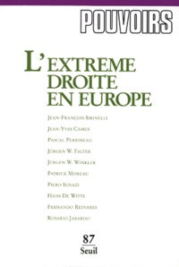 Jean-Yves Camus et Pascal Perrineau - .