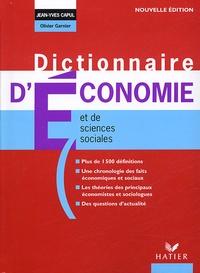Dictionnaire d'économie et de sciences sociales - Jean-Yves Capul |