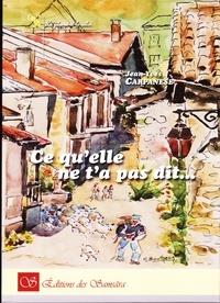 Jean-Yves Carpanèse - Ce qu'elle ne t'a pas dit....