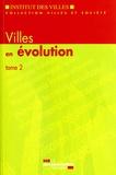 Jean-Yves Chapuis - Villes en évolution - Tome 2.