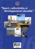 Jean-Yves Cosnier - Sport, collectivités et développement durable.