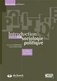 Jean-Yves Dormagen et Daniel Mouchard - Introduction à la sociologie politique.