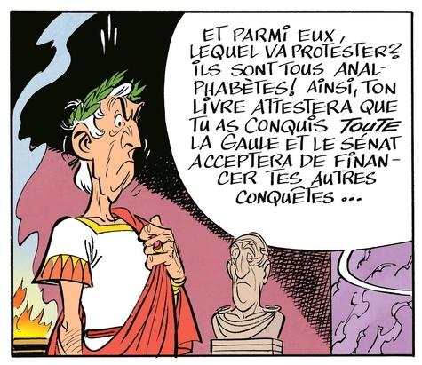 Astérix Tome 36 Le papyrus de César