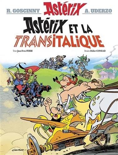 Astérix Tome 37 Astérix et la Transitalique