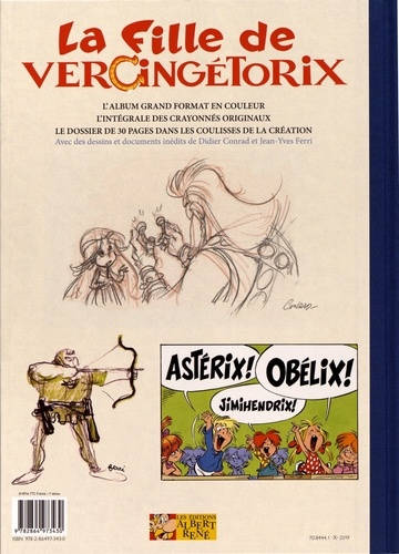Astérix Tome 38 La fille de Vercingétorix -  -  Edition de luxe