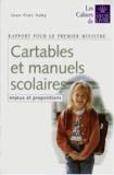 Jean-Yves Haby - Cartables et manuels scolaires - Enjeux et propositions.