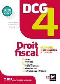 Jean-Yves Jomard et Jean-Luc Mondon - DCG 4 - Droit fiscal - Manuel et applications - Millésime 2020-2021.