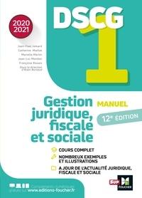 Jean-Yves Jomard et Jean-Luc Mondon - DSCG 1 - Manuel et applications - Millésime 2020-2021.