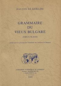 Grammaire du vieux bulgare (vieux slave).pdf