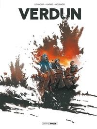 Jean-Yves Le Naour et  Marko - Verdun Intégrale : Tome 1, Avant l'orage ; Tome 2, L'agonie du fort de Vaux, Tome 3, Les fusillés de Fleury.