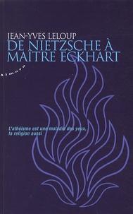 Téléchargez des livres gratuits en ligne pour BlackBerry De Nietzsche à maître Eckhart