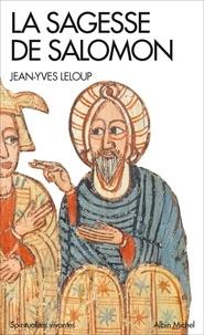 Jean-Yves Leloup - La Sagesse de Salomon.