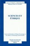 Jean-Yves Naudet - Sciences et éthique.