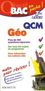 Jean-Yves Pennerath - QCM Géographie Tles L/ES/S.