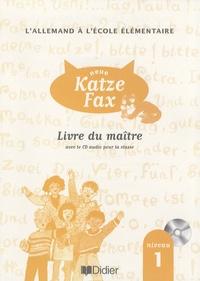 Galabria.be L'allemand à l'école élémentaire neue Katze Fax niveau 1 - Livre du maître Image