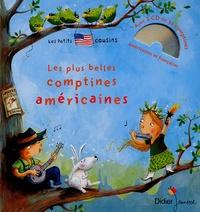 Jeanette Loric - Les plus belles comptines américaines. 1 CD audio