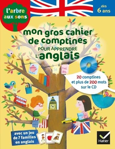 Mon Gros Cahier De Comptines Pour Apprendre L Anglais Grand Format