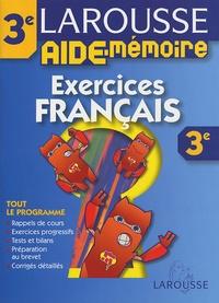 Jeanine Borrel - Exercices Français 3e.