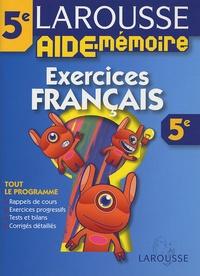 Exercices Français 5e - Jeanine Borrel | Showmesound.org