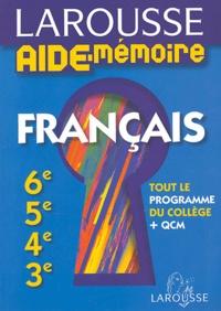 Jeanine Borrel et Brigitte Melluso - Français - 6e, 5e, 4e, 3e.