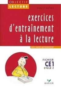 Jeanine Guion et Jean Guion - Français CE1 Cycle 2 Exercices d'entraînement à la lecture Objectif Lecture - Fichier.