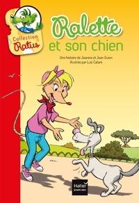 Jeanine Guion et Jean Guion - Ralette et son chien.