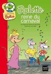 Jeanine Guion et Jean Guion - Ralette reine du carnaval.