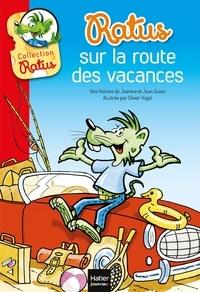 Jeanine Guion et Jean Guion - Ratus sur la route des vacances.