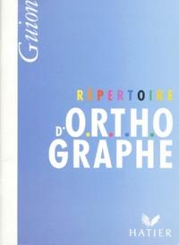 REPERTOIRE DORTHOGRAPHE.pdf