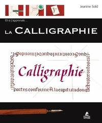 Jeanine Sold - La Calligraphie.
