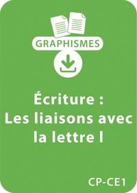 """Jeanine Villani - Graphismes  : Graphismes et écriture - CP/CE1 - Les liaisons avec la lettre """"""""L"""""""" - Un lot de 5 fiches à télécharger."""