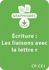 """Jeanine Villani - Graphismes  : Graphismes et écriture - CP/CE1 - Les liaisons avec la lettre """"""""R"""""""" - Un lot de 8 fiches à télécharger."""