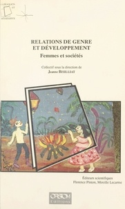 Jeanne Bisilliat - Relations de genre et développement : femmes et sociétés.